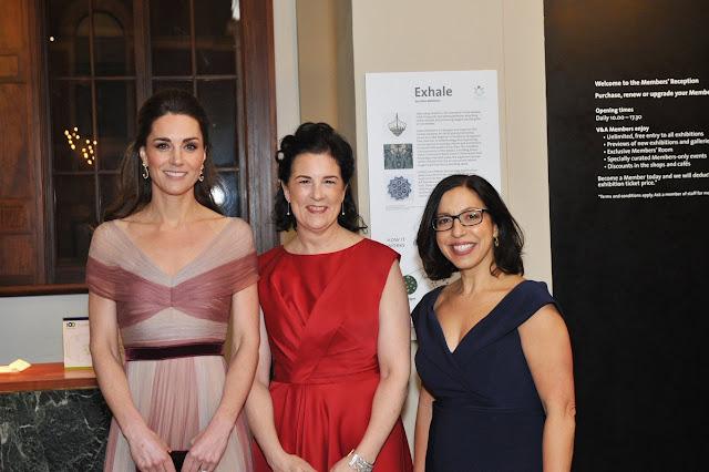 Księżna Kate na gali 100 Women in Finance
