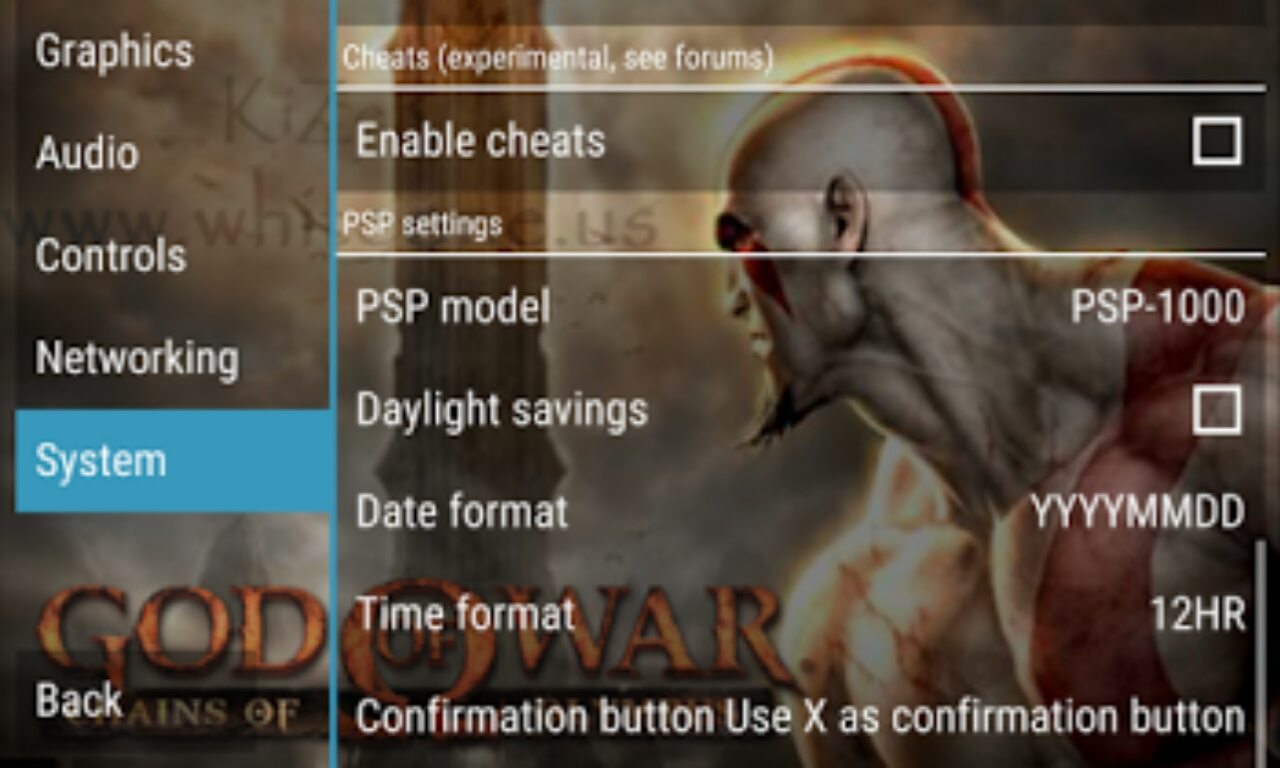 Ppsspp god of war settings | God Of War PPSSPP CSO Highly