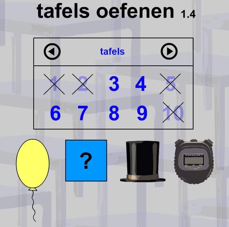 Jufyvon week van de tafels tafels oefenen online for Www tafel oefenen nl