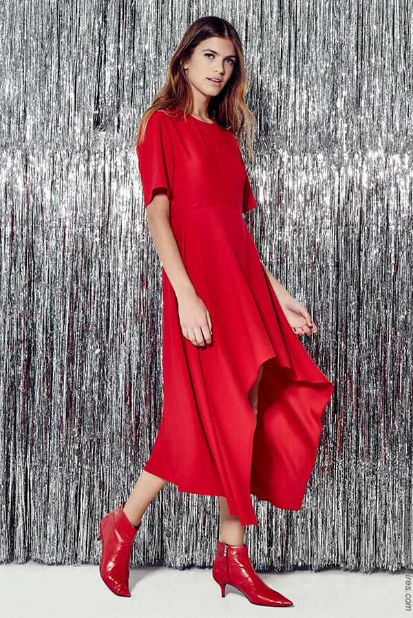 Vestidos otoño invierno 2018 ropa de moda.