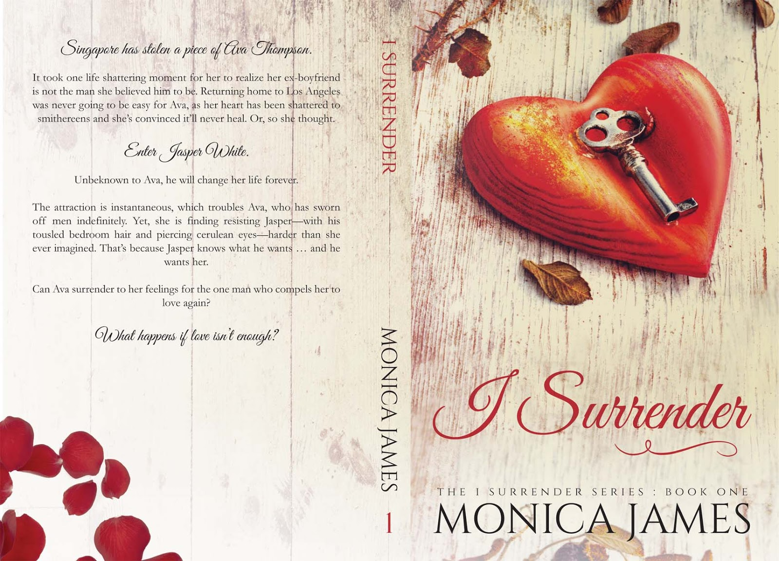 Cover Reveal I Surrender Series