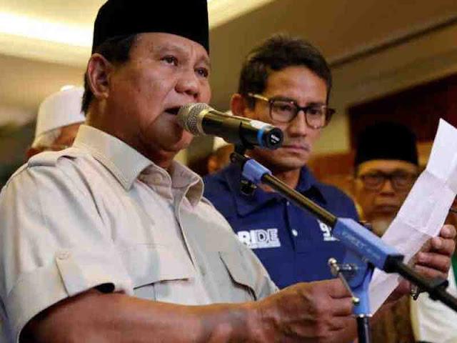 Ganggu Ketertiban di Monas, Syukuran BPN Prabowo-Sandi Dipindahkan ke Kertanegara