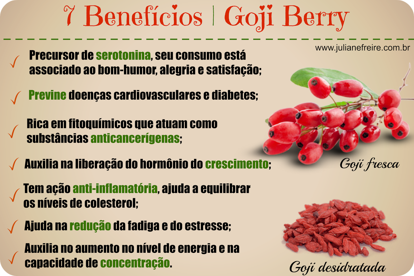 7 beneficios goji berry
