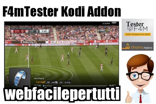 Kodi | F4mTester Addon Indispensabile Per La Visione Dei canali Cinema e Sport Della Tv Satellitare