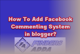 add facebook comment box in Blog