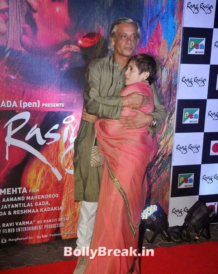 Sudhir Mishra, Deepa Sahi, Photos from 'Rang Rasiya' Premier