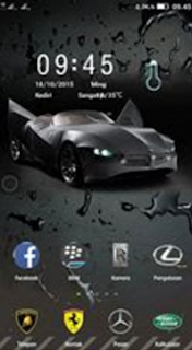 Theme Car Lenovo A7000