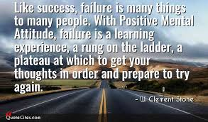 Motivational quote of the day by W. Clement Stone