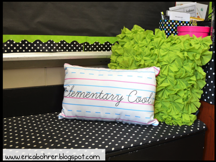Classroom Decoration Black And White ~ Black and white polka dot classroom decor ideas erica s