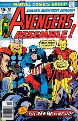 Avengers #151