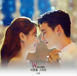 Lyric : Navi (KO) - Draw A Love (OST. W)