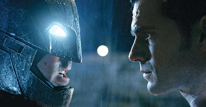 Batman y Superman frente a frente