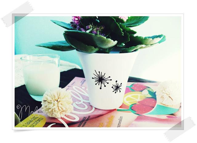 ceramika, home decor, tutorial, ozdabianie ceramiki,