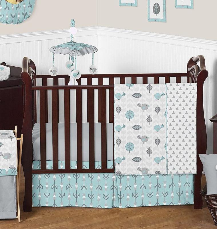 Vegan Mom Blog Therightonmom Aqua Baby Room Bedding And Nursery Ideas