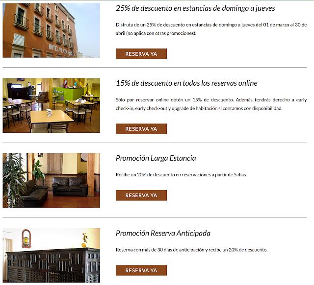 http://www.hotelplazamorelia.com.mx/promociones.html