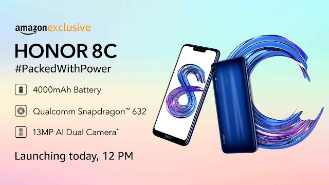 HONOR 8C Launch Date In India: Honor 8C Full Specification