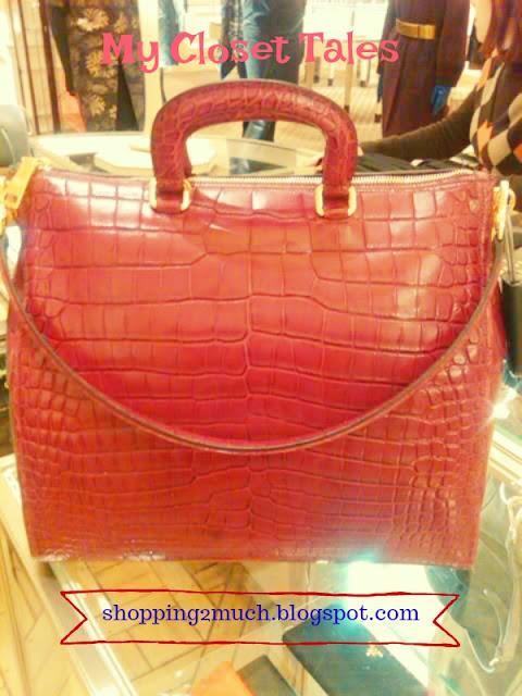 6d2835f0b0a5 My Closet Tales ~  Prada  Crocodile Bag  23k