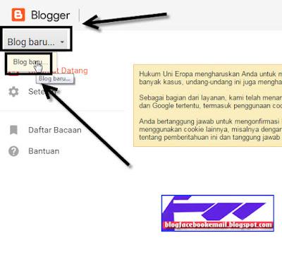 cara daftar blog dengan akun gmail