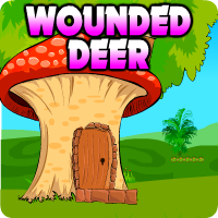 AVMGames Wounded Deer Escape walkthrough