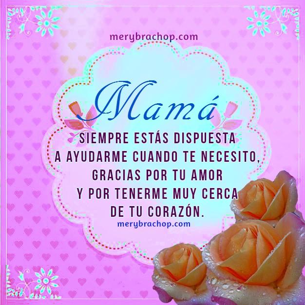 Imágenes de la Madre, frases cristianas, bonitas tarjetas para la madre, feliz día,   mensajes para felicitar a mamá por Mery Bracho