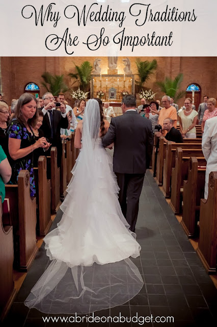 Wedding traditions are so important. Read this post from www.abrideonabudget.com and you will understand why.