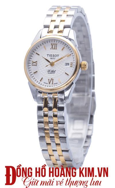 đồng hồ tissot nữ dây sắt đẹp