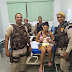 PMs salvam a vida de bebê em Feira de Santana