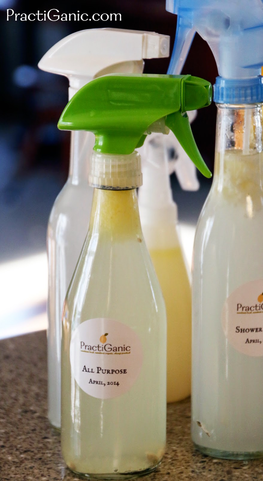 Make your own cleaners now