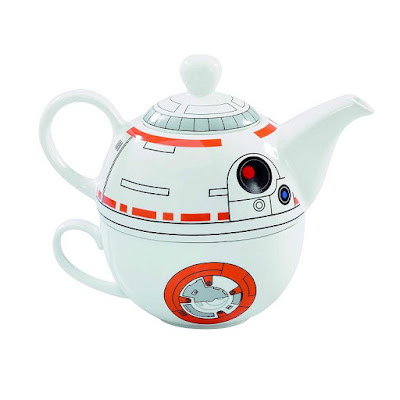 Starwars BB-8 Ceramic Teapot and Cup Set