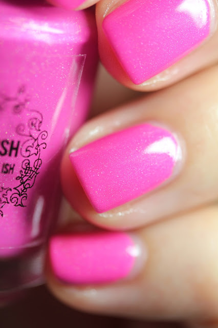 My Indie Polish Pink Lambo Nail Polish Review