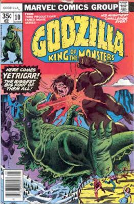 Godzilla #10, Yetrigar