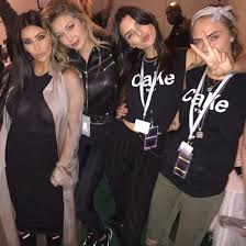 Cara Delevingne & Kendall Jenner 'CaKe tour' t-shirt