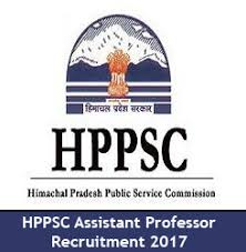 HPPSC (SET) Recruitment 2017 - Assistant Professors Vacancy