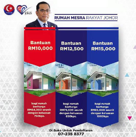 Pendaftaran Bantuan Rumah Mesra Rakyat Johor