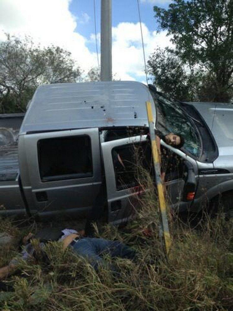 Imagenes Mueren 3 sicarios en fuerte enfrentamiento con Fuerza Tamaulipas en Matamoros