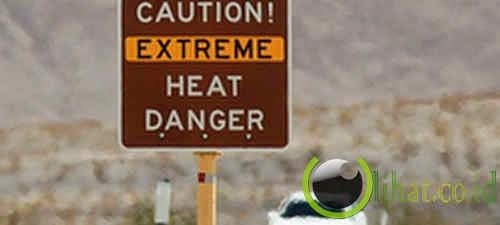 Tempat terpanas - Death Valley