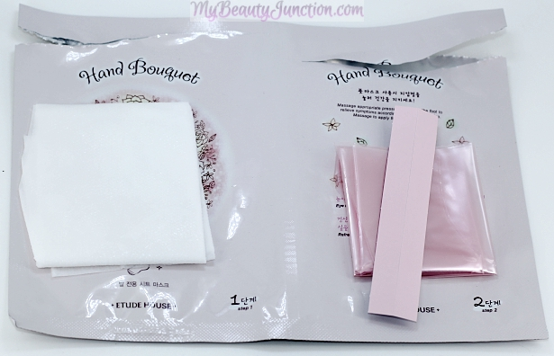 Etude House Hand Bouquet Rich Butter Foot Mask review