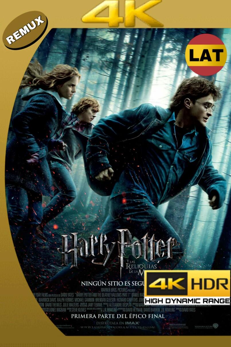 HARRY POTTER Y LAS RELIQUIAS DE LA MUERTE – PARTE 1 (2010) BDREMUX 4K UHD 2160P LATINO-INGLES MKV