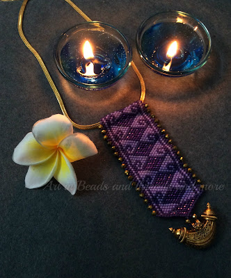 delica bead weaving