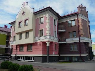 Пінськ. Поліський університет. Студентське містечко