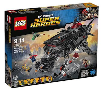 LEGO DC Comics Super Heroes : Liga de la Justicia - 76087 Flying Fox: ataque aéreo del Batmobile | 2017 | PELICULA | JUGUETE  CAJA