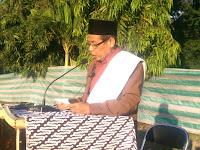 Shalat Id Fitri di Lapangan SMKPP Bima, Ustadz Ahmad Mahmud Bertindak Sebagai Khatib