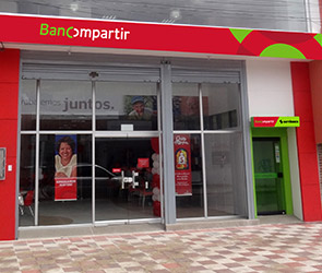 Bancompartir en Bogota