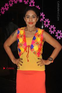 Telugu Actress Model Sri Reddy Latest Stills in Yellow Dress  0020.JPG