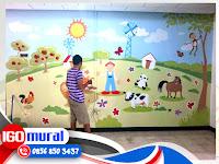 Lukisan Dinding Sekolah, Lukisan Mural Dinding Sekolah