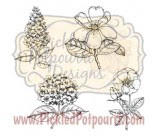 Botanical Minis Digital Stamps