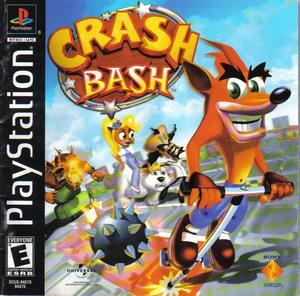 Crash Bash - PSX - Portada