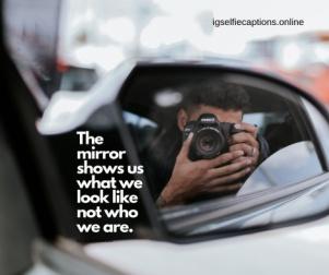 Best Mirror Selfie Captions