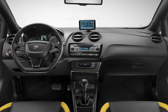 2013 Seat Ibiza Cupra Front Interior