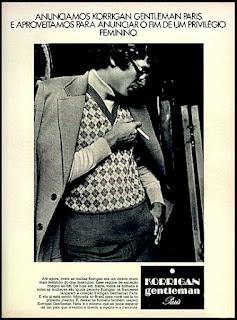 moda anos 70.  Os anos 70. propaganda anos 70; história da década de 70; reclames anos 70; brazil in the 70s; Oswaldo Hernandez